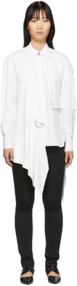 Proenza Schouler White Oversized Button Down Shirt