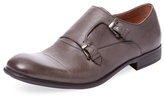 John Varvatos Cap-Toe Double Monkstrap