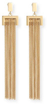 Chloé Delfine Rigid Chain Drop Earrings