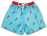 Rosalina Lobsters Gingham Swim Trunk