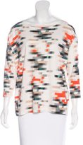 Cacharel Abstract Printed Top