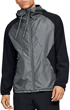 Under Armour Regular Fit Stretch Hooded Woven