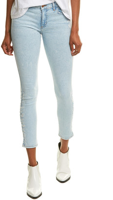 Siwy Lynette Stand Beside The Ocean Signature Mid-Rise Skinny Leg Jean