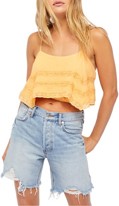 Free People Home Again Crop Camisole