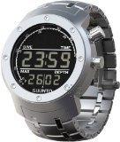 Suunto Men's Elementum Aqua Steel SS014527000 Stainless-Steel Quartz Watch