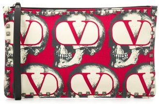 Valentino x Undercover Rockstud clutch