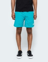 Stussy Stock Elastic Waist Short II in Green