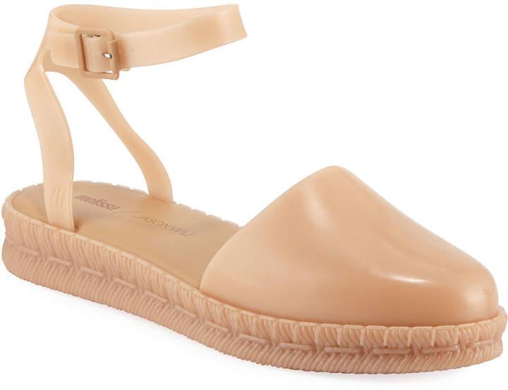 a6b2c40c073 Melissa Shoes x Ankle-Strap Espadrilles