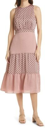 Ted Baker Mix Polka Dot Sleeveless Dress