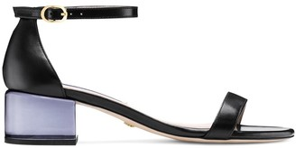 Stuart Weitzman THE SIMPLE LUCITE SANDAL