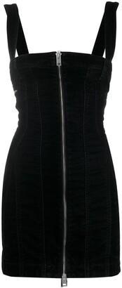 Diesel Zip-Through Corduroy Mini Dress