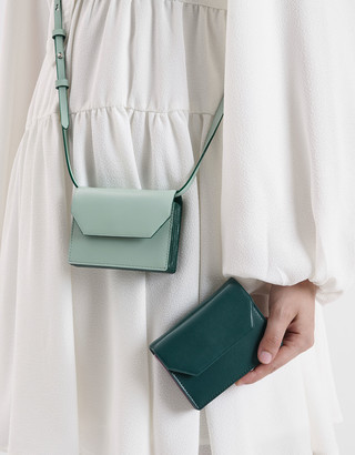 Charles & Keith Front Flap Card Holder