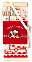 Olympia Le-Tan 'Lunch Milk Box' crossbody bag - women - Cotton - One Size