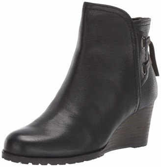 Cobb Hill Lucinda Back Tie Boot Black