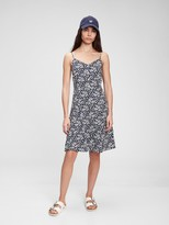 Thumbnail for your product : Gap Fit & Flare Cami Print Dress