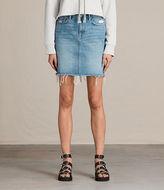 AllSaints Kim Denim Skirt