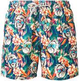 MC2 Saint Barth monkeys print swim shorts - men - Polyamide/Polyester/Spandex/Elastane - S