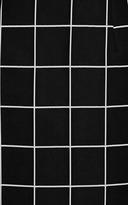 Josh Goot Halter Grid Pencil Skirt
