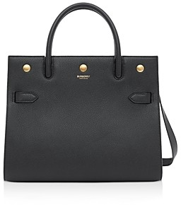 Burberry Title Small Leather Shoulder Bag