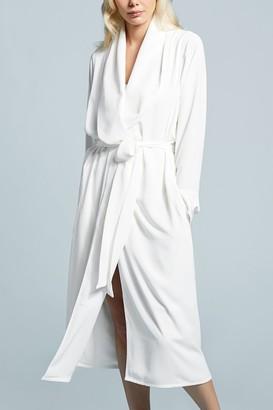 Negative Underwear Icon Robe in White