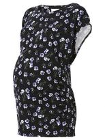 Jeanswest Lou Maternity Printed Tee-Multi Black-XS