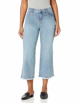 Gloria Vanderbilt Women's Amanda Wide Leg Crop Length Jean