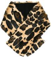 Sonia Rykiel leopard print stole