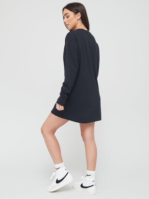 Nike NSW Essential Long Sleeve Dress - Black