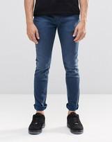 Pepe Jeans Pepe Nickel Skinny Jeans F46 Petrol Blue