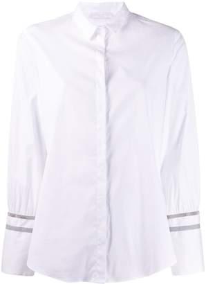 Fabiana Filippi Ball-Chain Sleeve Shirt