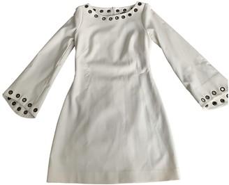 Plein Sud Jeans White Dress for Women