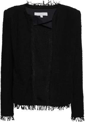 IRO Shavani Frayed Cotton-blend Boucle-tweed Jacket