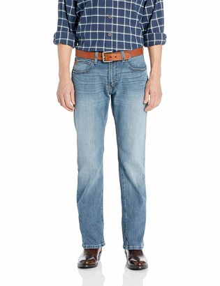 Ariat Men's Big and Tall M5 Slim Fit Straight Leg Jean