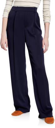 Vince Wide-Leg Pull-On Pants