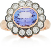 Marlo Laz 14K Rose Gold and Tanzanite Alexandra Ring