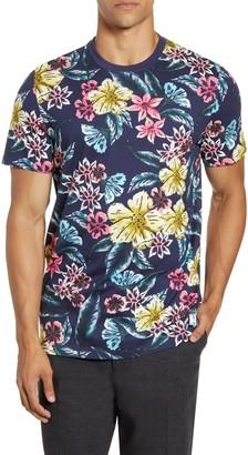 Ted Baker Slim Fit Floral T-Shirt