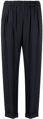 Emilio Pucci Cropped Tapered Trousers