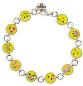Girl's Charm It! Emoticon Bracelet