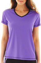 JCPenney Made For Life Short-Sleeve Taped Mesh Tee - Tall