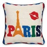 Jonathan Adler Jet Set Paris Pillow, 12 x 12