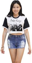 Me Women's Pink Floyd Crop T-shirt
