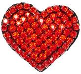Alice + Olivia Heart Embellished Brooch