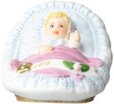 Growing up Girls from Enesco Blonde Newborn Figurine 1.75 IN