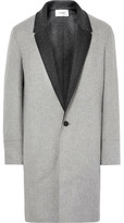 Chalayan Double-Faced Virgin Wool and Cashmere-Blend Coat