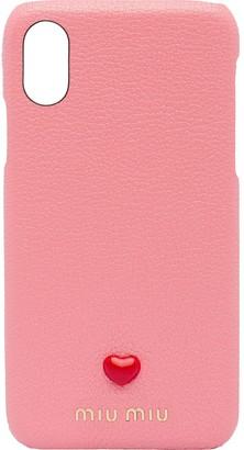 Miu Miu iPhone X and XS case