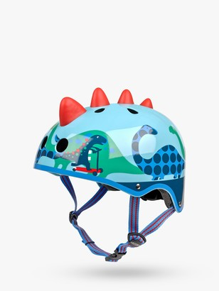 Micro Scootersaurus 3D Scooter Helmet, Dinosaur, Medium