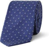 Sand Geometric Silk Tie
