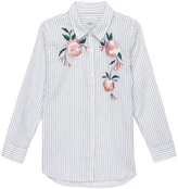 Rails Striped Floral Shirt