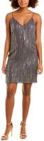 Equipment Tanise Silk-Blend Cocktail Dress