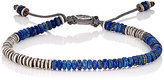 M. Cohen Men's Roundtable Ingot Bracelet-BLUE
